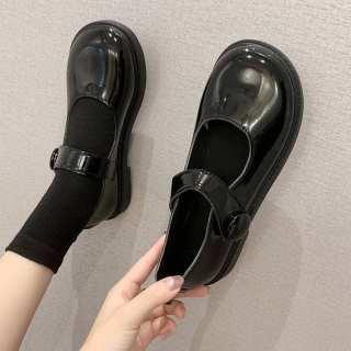 JML211 Mary Jane Nhật Bản Jk Giày Da Nhỏ Nữ Sinh Chuyến Bay Tất Cả Các Trận Đấu Kiểu Anh Phong Cách Hoài Cổ 2020 Xuân Hè Mới Mỏng