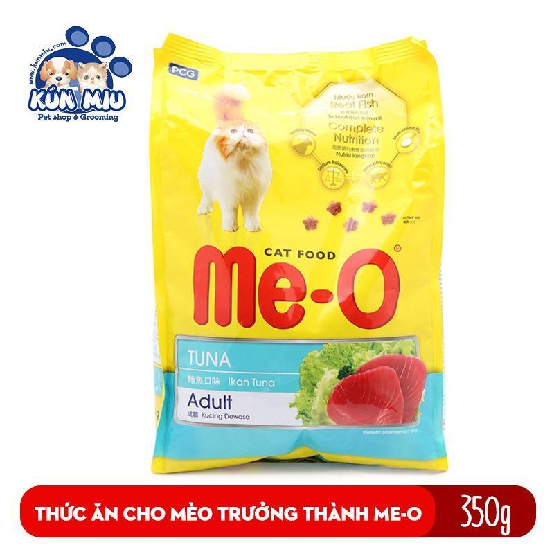 Thức ăn cho mèo lớn đã trưởng thành trên 1 tuổi Me-O Adult 350gr