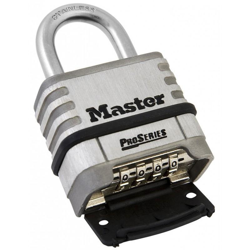 Khóa Master Lock 1174 D Thân Inox Rộng 57mm Không Gỉ