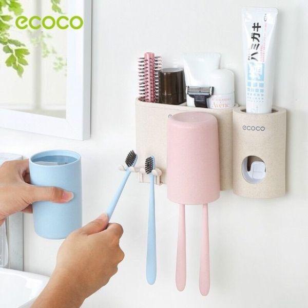 Bộ Cắm Chải Nhà Tắm Ecoco Cao Cấp