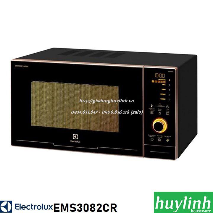 [Trả góp 0%]Lò vi sóng có nướng đối lưu Electrolux EMS3082CR - 30 lít