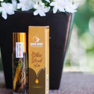 Tinh dầu thảo dược Thái Bình Du Hoa Nén - Phòng ho, cảm, sỗ mũi hiệu quả thumbnail
