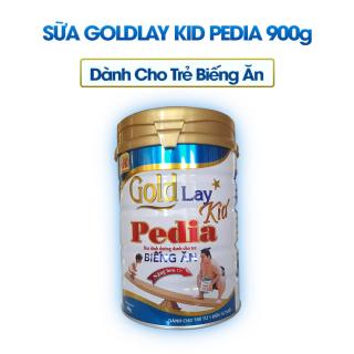 Sữa bột goldlay pedia biếng ăn 900g thumbnail