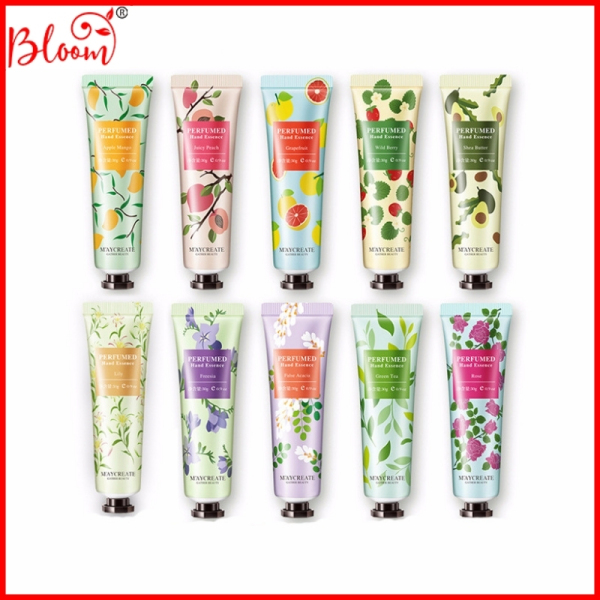 Kem dưỡng da tay mềm trắng kem dưỡng ẩm dưỡng tay mềm mại Maycreate 10 mùi hương thơm 30g MKDT1