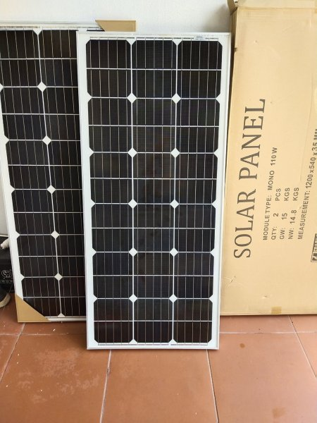 Tấm Pin Năng Lượng Mặt Trời 110W MONO
