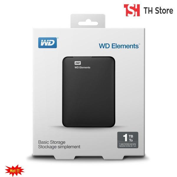 Ổ Cứng Di Động WD Elements 1Tb kết nối USB 3.0