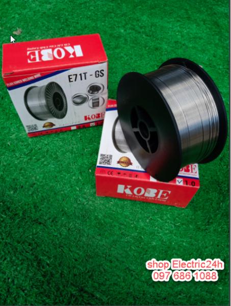 Cuôn Dây Hàn Chuyên Dùng Máy hàn Mig Không Dùng Khí Chính Hãng KOBE loại 1kg 0.8mm-1.0mm - ELectric24h Store