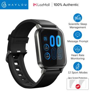 Haylou SmartWatch LS02 tiếng Anh phiên bản 12 chế độ thể thao 14 inch lớn HD màn hình Bluetooth 5.0 thông minh xem chờ dài IP68 quản lý ngủ không thấm nước Smartđồng hồ thumbnail