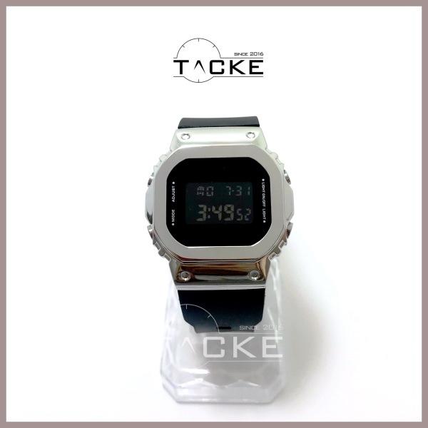 Đồng hồ thể thao nam nữ casio Gshock G5600 máy điện tử siêu bền viền thép G-shock G-5600 thời trang unisex