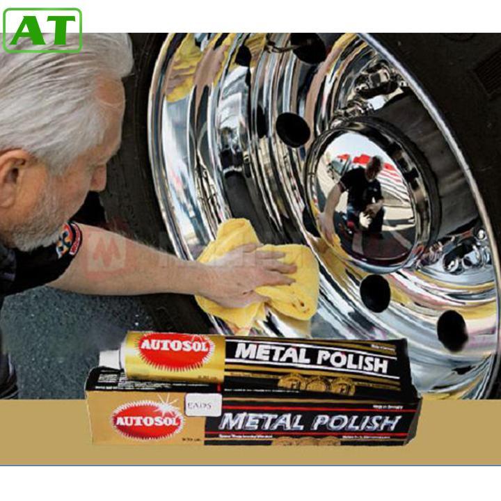 Kem Đánh Bóng Kim Loại Inox Đồng Autosol Metal Polish 50g Có Giá Rất Tốt