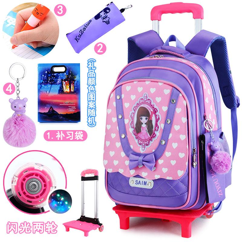 6571ca81a1 Trolley bag bags 6-12 a Year of Age girl women Children s School Bags 2