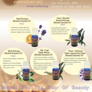 Thanh Phương Tinh Dầu Monsa Head Energize Blended Essential Oil 10ml 2