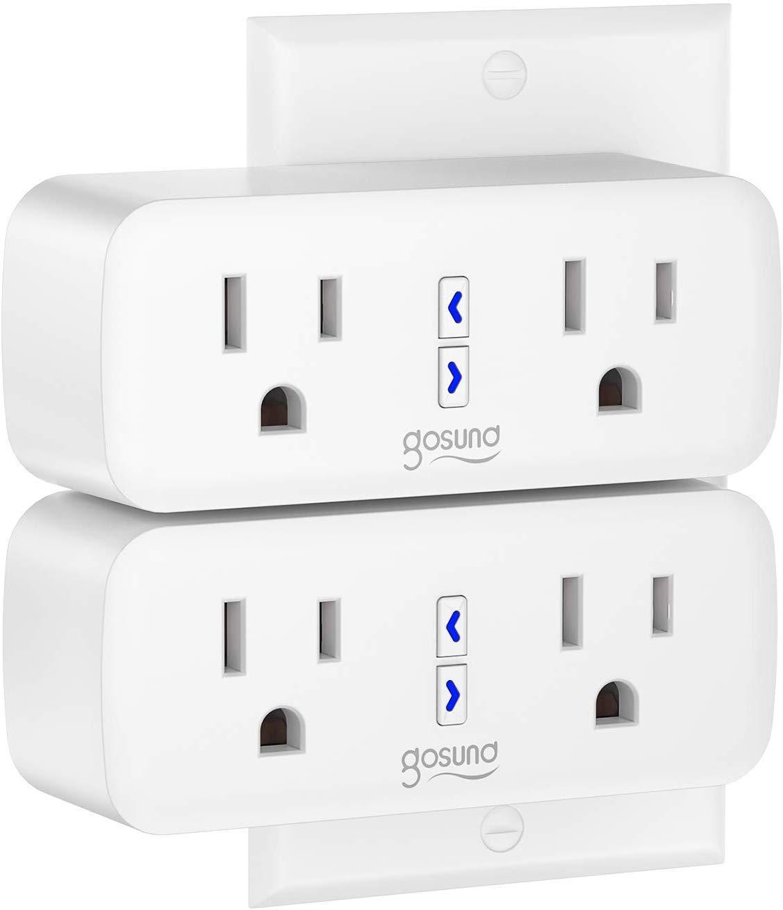 Ổ cắm điện wifi thông minh, điều khiển từ xa, hỗ trợ Amazon Echo Dot (Alexa), IFTTT, Google Home (Google Assistant)
