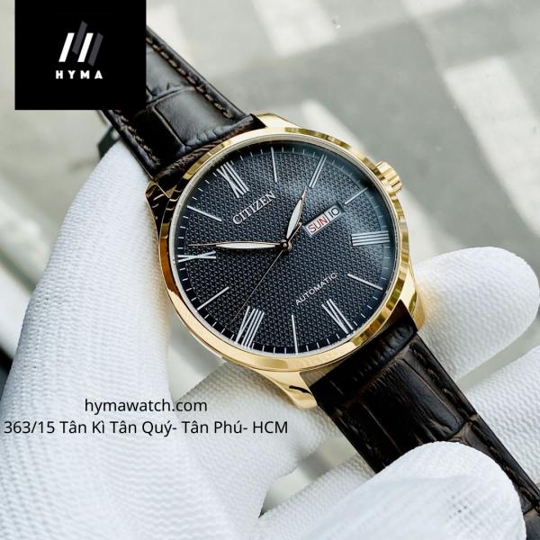 Đồng hồ nam dây da máy cơ Citizen NH8353-00H Bảo hành 1 năm Hyma watch