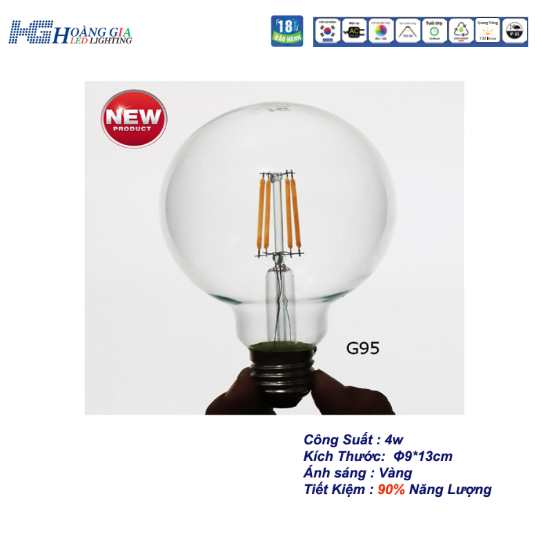 Đèn Trang Trí LED EDISION G95 4W