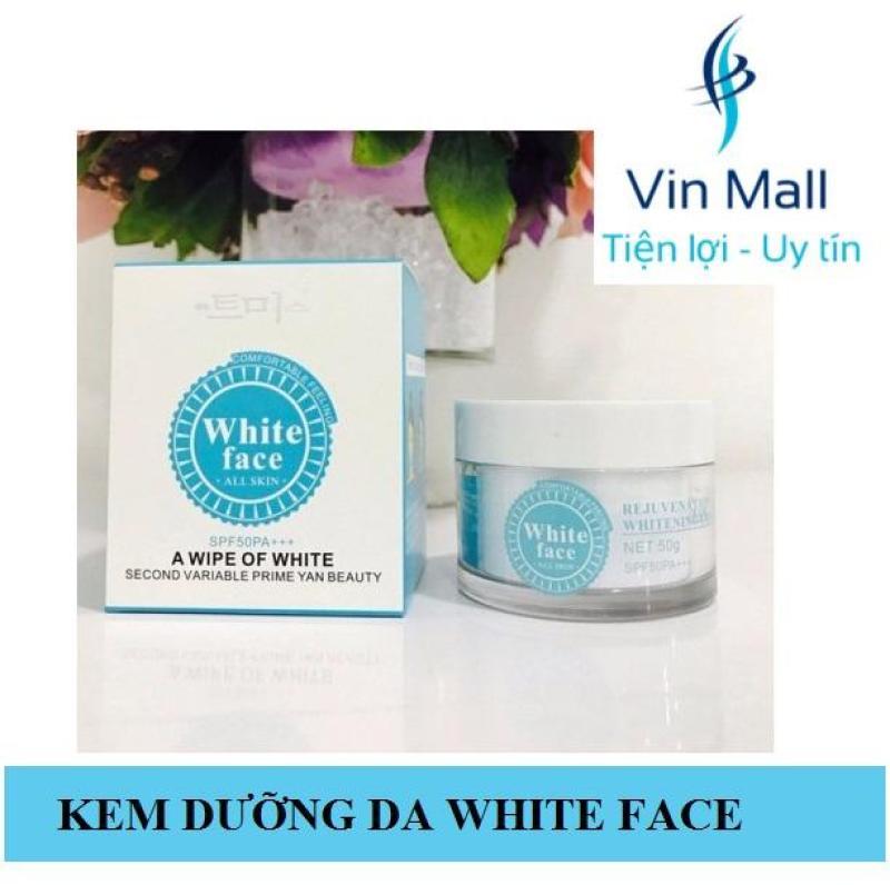Kem Dưỡng Trắng Da White Face (Mẫu mới) giá rẻ