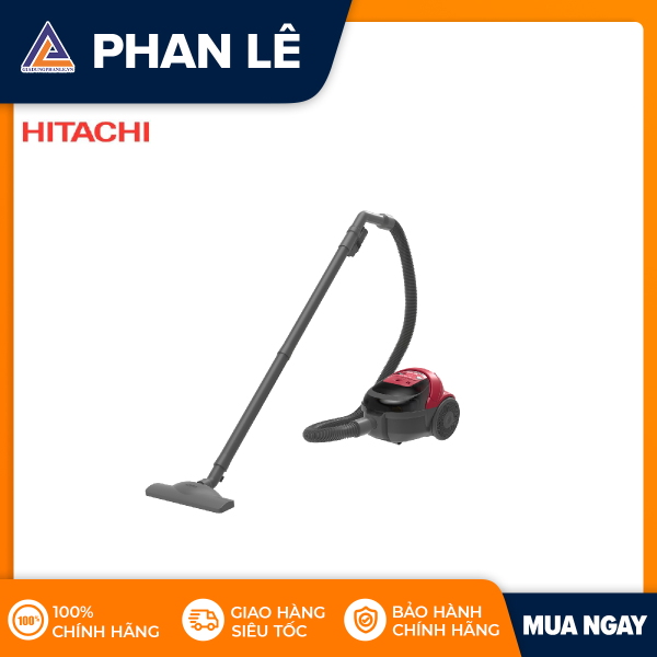 [VOUCHER GIẢM 8% TRÊN APP] Máy hút bụi Hitachi CV-SF16 - Đỏ