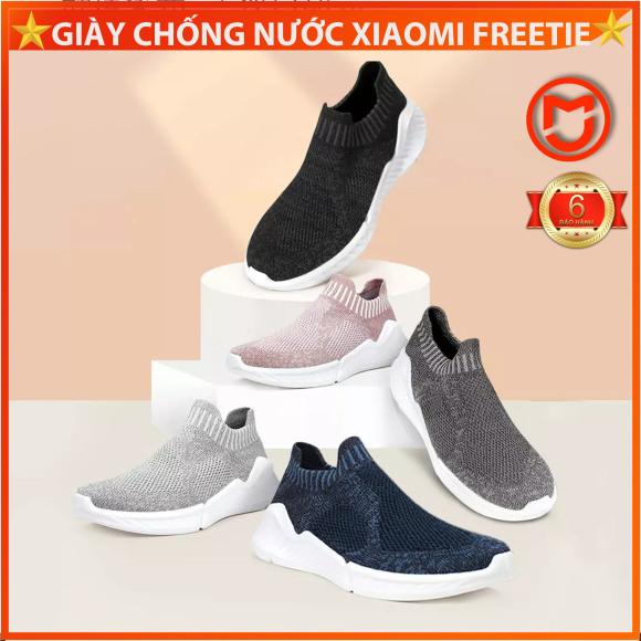 ✅Giày thể thao kháng nước Xiaomi, Giày thể thao Freetie kháng khuẩn lót đế đúc liền khối giá rẻ