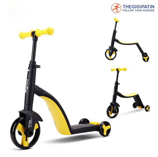 Phân phối Xe Scooter Trẻ Em Cao Cấp Nadle 3 In 1 Dành Cho Bé Từ 3 Đến 9 Tuổi
