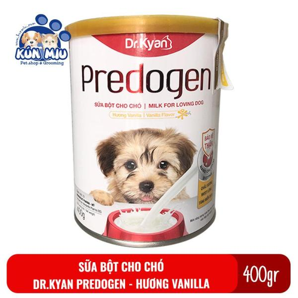Sữa bột cho chó Dr.Kyan Predogen hộp 400gr cung cấp dinh dưỡng cho chó