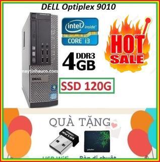 Thùng Dell optiplex 9010 Core i3 3220 4G SSD 120G , Khuyến Mai USB wifi , Bàn di chuột - Bảo hành 02 Năm thumbnail