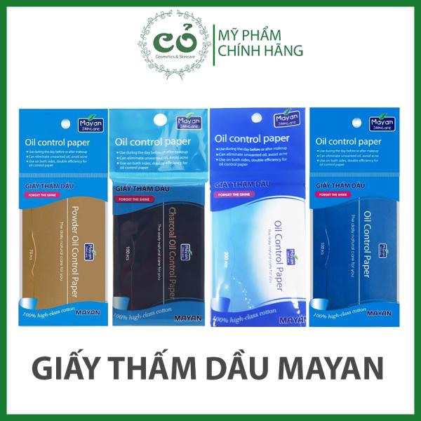 Giấy Thầm Dầu Mayan Skincare Oil Control Paper