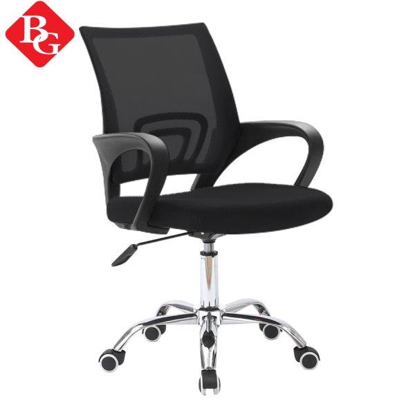 BG - Ghế lưới chân xoay văn phòng chân xoay 360 độ Model B101 BLACK mới 2021 giá rẻ