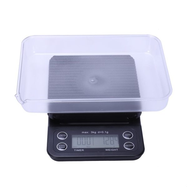 Coffee Digital Scale Kitchen Household Weigh Rushed Direct Limited 0.1g With Timer