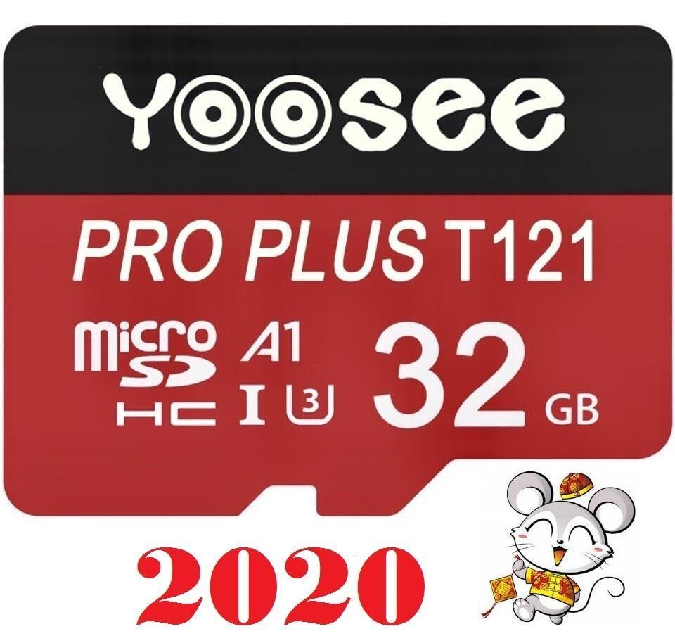 Giá Thẻ nhớ Yoosee A1 Pro Plus 32Gb phiên bản mới 2020, tốc độ đọc ~100mb