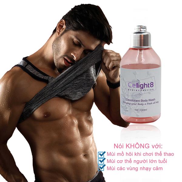 Sữa tắm khử mùi toàn thân Cellight 8 Deodorant