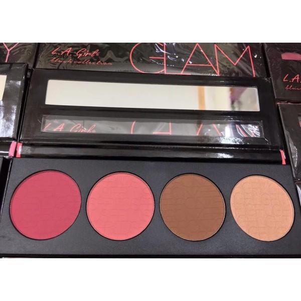 Bảng má hồng + tạo khối / highlight L.A Girl Blush Collection