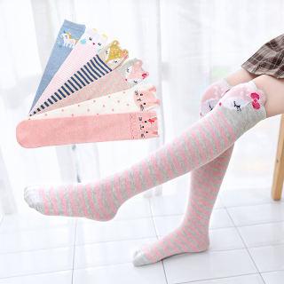 Tất dài ngang gối hoạ tiết hoạt hình dễ thương cho bé từ 3-12 tuổi - INTL