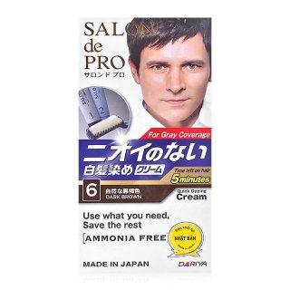 Thuốc Nhuộm Tóc Phủ Bạc Chiết Xuất Từ Thảo Dược màu Sắc Trẻ Trung Salon de Pro (100% Japan) thumbnail