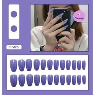 Set 24 móng giả kèm keo mã CHS005 thumbnail