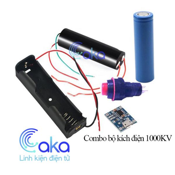 Combo module tăng áp 1000KV, máy đánh lửa 1000KV