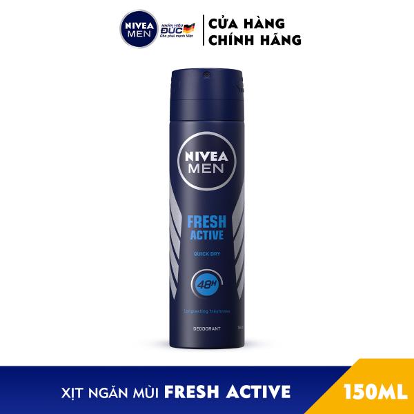 Xịt Ngăn Mùi NIVEA MEN Fresh Active Tươi Mát Năng Động (150ml) - 81600