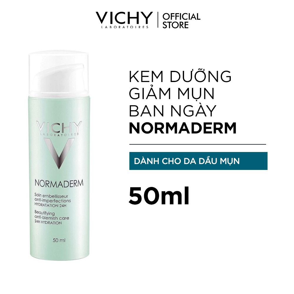 Kem dưỡng ẩm giảm mụn ban ngày Vichy Normaderm Tri-Activ 50ml