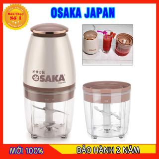 [GIÁ TỐT] Máy xay mini đa năng OSAKA đầu dẹt - Máy xay sinh tố OSAKA - Máy xay tỏi ớt mini thumbnail