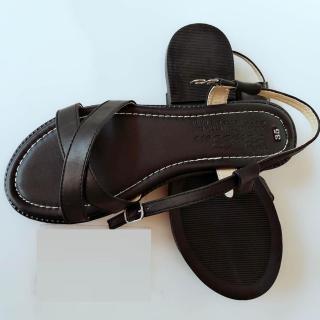 [HCM]Sandal nữ da bò thật cao cấp bảo hành một năm thumbnail