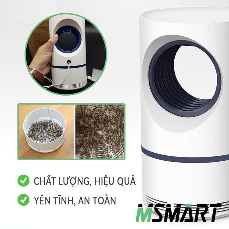 Đèn bắt muỗi thông minh kèm đèn ngủ, máy diệt muỗi và côn trùng hiệu quả, an toàn, không ồn ào, máy đời mới thiết kế đẹp