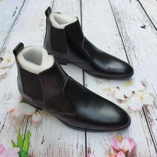 Giày Tây Nam Cổ Cao Phong Cách Lịch Lãm thumbnail