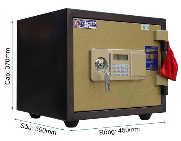 Két sắt Việt Tiệp điện tử chống cháy VE422