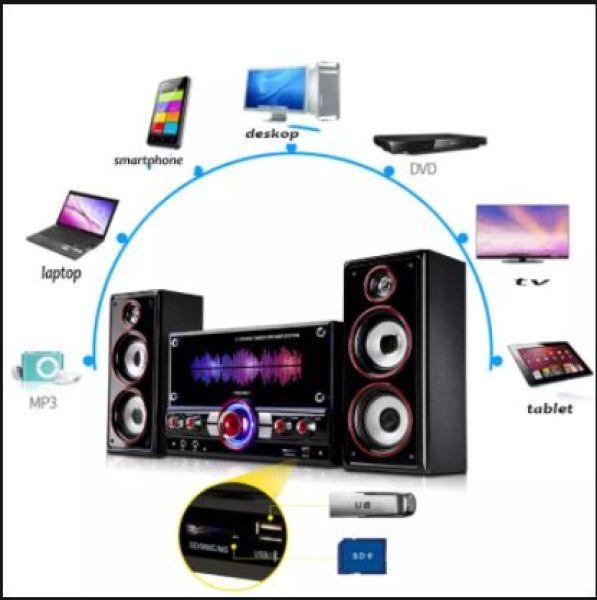 Bảng giá [ ÂM THANH CỰC CHẤT ]ComBo Trọn Bộ Dàn Loa Vi Tính HYUNDAI 3187 Cao Cấp 2.1-Si.êu Đẹp, Tiếng Bass Căng Nghe Chắc, Chuẩn Hay, Dải Âm Rộng, Có Điều Khiển, Hỗ Trợ Cổng 3.5mm, USB, Thẻ Nhớ, Kết Nối Bluetooth, Loa Chơi Game Sống Động ,Loa