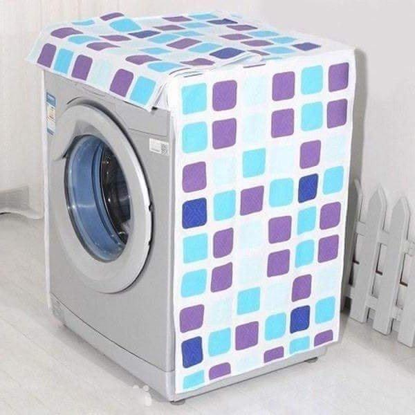 Giá Áo trùm máy giặt - phủ bọc máy giặt lồng đứng/ cửa trên - cửa trước/ lồng ngang loại dày hoa văn đẹp BMG-1039 (dành cho máy 7.5-9.5kg)