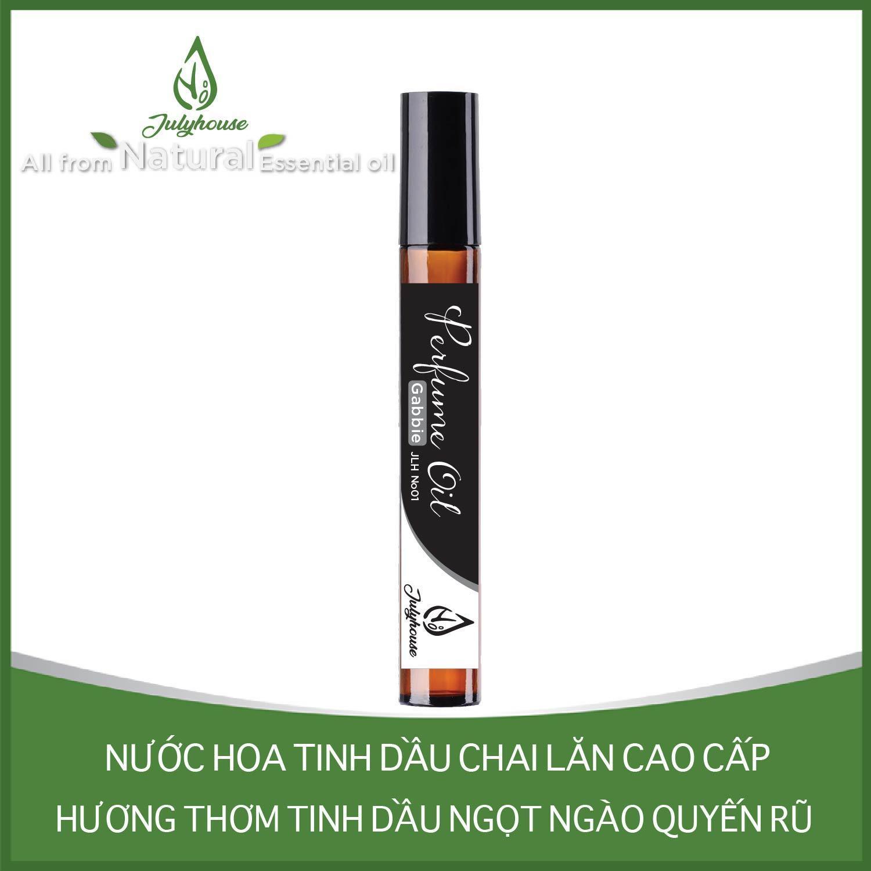 [Chính Hãng] Nước hoa tinh dầu dạng chai lăn Gabbie No.01 10ml JULYHOUSE cao cấp