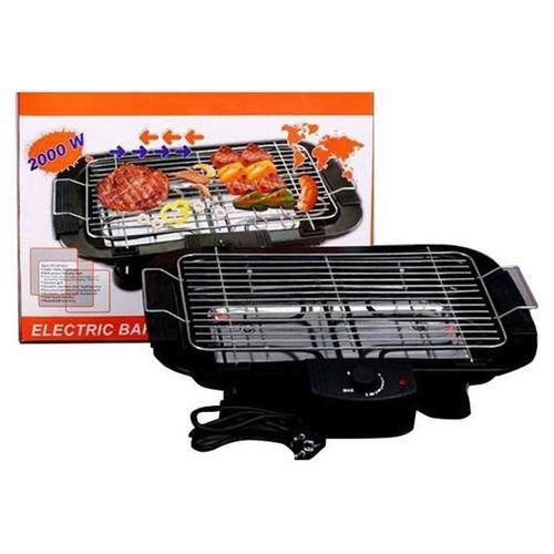 Bếp nướng thịt BBQ dùng than + Than hoa gỗ nhãn không khói 1kg (Hình chữ nhật)