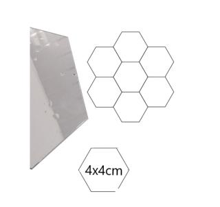 [HÀNG HOTTREND] Gương Dán Tường 3D Hình Lục Giác Decal Dán Tường , Gương Dẻo Dán Tường Trang Trí Tự Dính Tường Cho Phòng Khách Phòng Ngủ Gương Acrylic Dán Tường , Gương Decor Lục Giác thumbnail