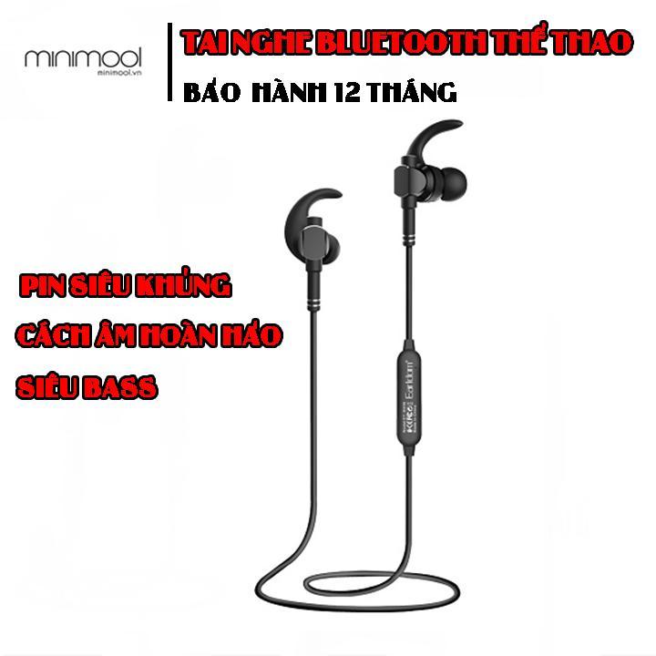 Giảm Giá Quá Đã Phải Mua Ngay Tai Nghe Bluetooth Thể Thảo Earldom BH-18 Thiết Kế Cong Ôm Sát Vào Tai Chống Ồn Hiệu Quả Bass Treble Rõ Ràng Pin Khủng Sử Dụng Liên Tục 6 Giờ - Bảo Hành 12 Tháng Lỗi 1 Đổi 1 (Minimool Phân Phối)