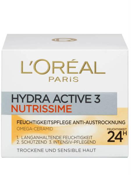 Kem Dưỡng Da Loreal Hydra Active 3 Nutrissime Ban Ngày, 50 ml tốt nhất