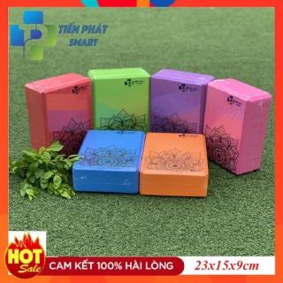 Gạch tập, Gối tập Yoga xốp Eva in hoa mandala 23x15x8cm -Chất liệu PVC xốp cao cấp bền đẹp Tienphatsmart thumbnail